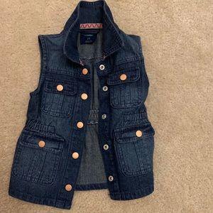 Other - Girl denim vest